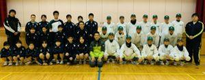 9年連続で石川県の中学軟式野球部へ 〜豊田育成コーチより〜