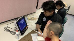 神奈川大和ボーイズにて肘エコー検診&身長・食事セミナーを行いました