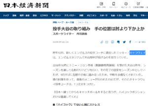 日本経済新聞のweb紙面で紹介されております!