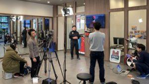 NHK-BS1「勝利の条件 スポーツイノベーション」の取材を受けました!